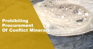 Prohibiting Procurement Of Conflict Minerals